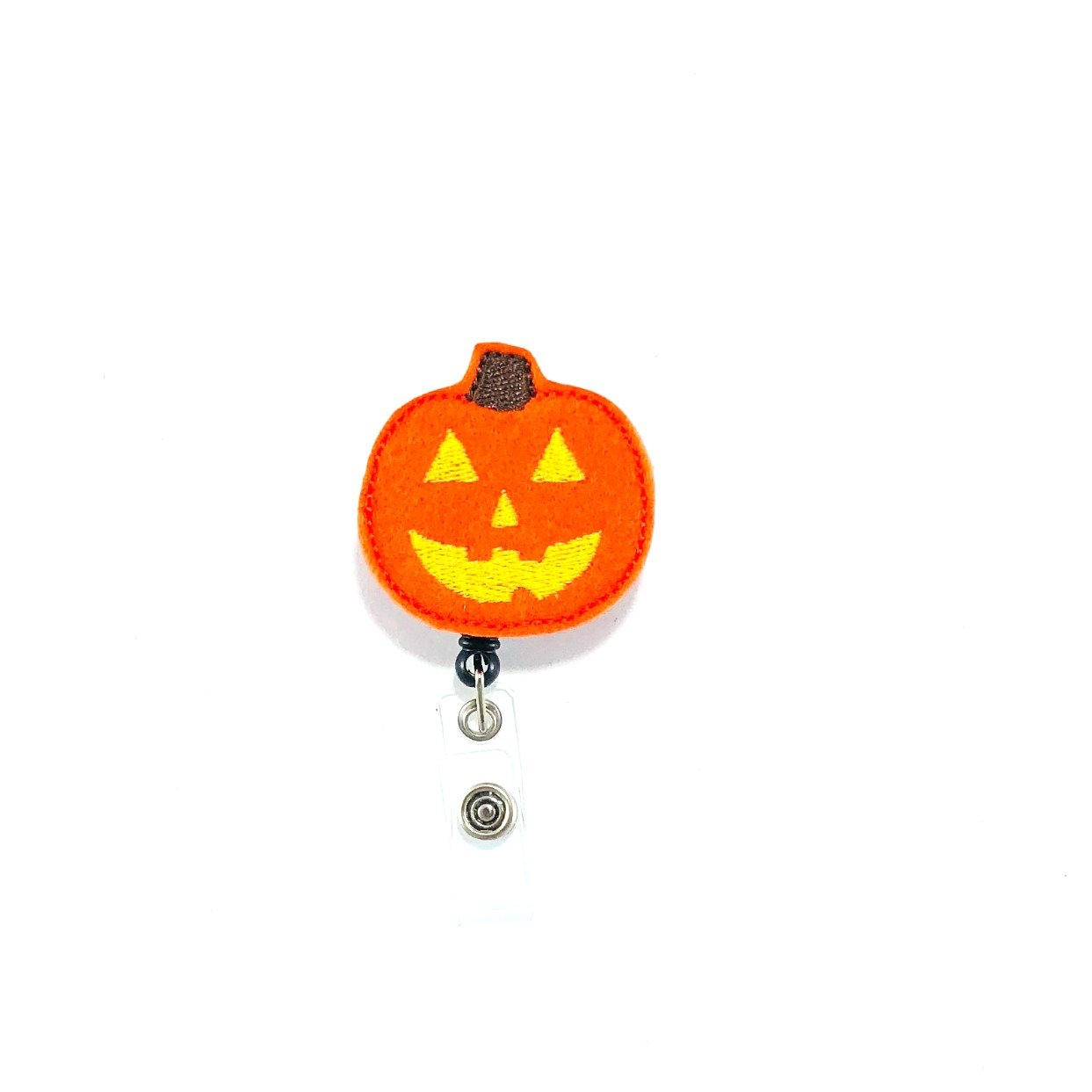 Jack O Lantern Retractable Badge Reel