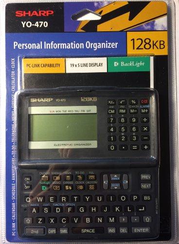 Sharp YO-470 Personal Information Organizer by Sharp