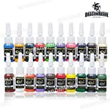 TATTOO INK 20-PACK Primary Color Set