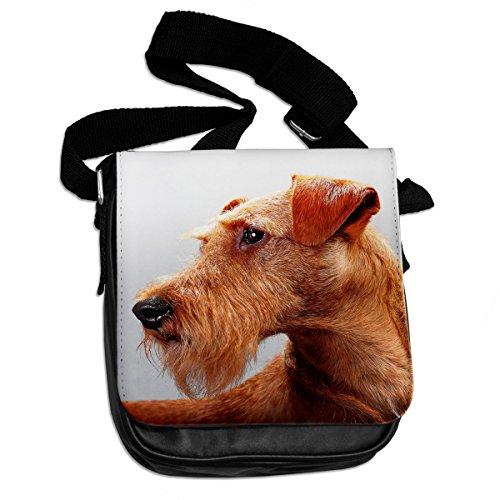 Irish Terrier cane animale borsa a tracolla 166