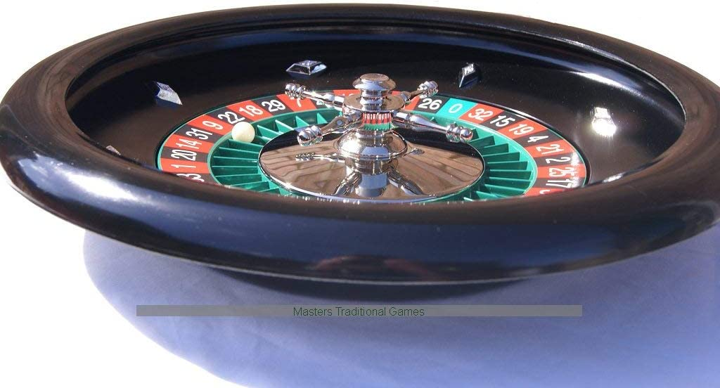 Casino quality roulette wheel