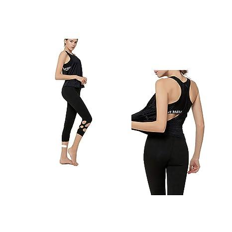 Yoga Ropa Deportiva Mujer Conjuntos Fitness Yoga Set Chandal ...