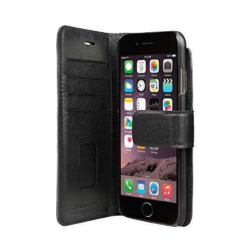 Bugatti Zurigo Etui folio pour iPhone 7 Noir