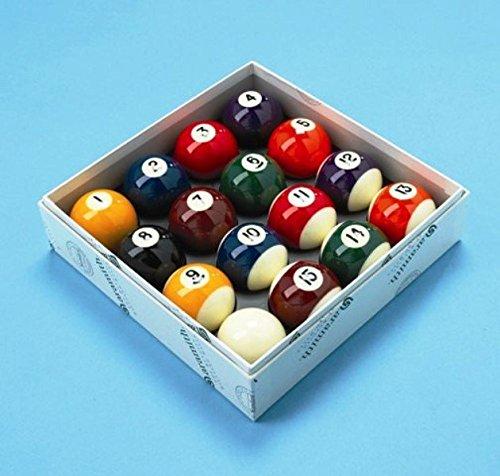 Aramith Pool Balls Spots and Stripes UK 2 Inch Set