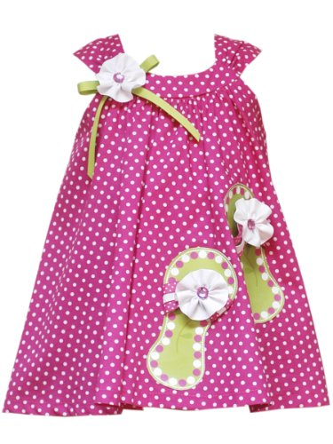 Rare Editions Baby Baby Girls' Dot Woven Dress