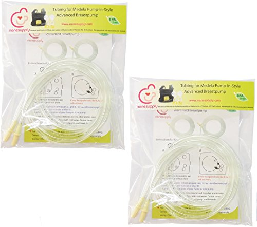 Pump in Style Tubing x4 for Medela Pump in Style Advanced Breastpump. Replace Medela Tubing Medela Pump Parts Medela Tubes Medela Replacement Parts. Made by Nenesupply