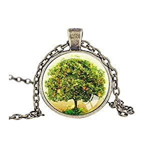 Darkey Wang Fashion Jewelry Unisex Love Tree Necklace Vintage Accessories(8#)