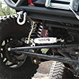 Rugged Ridge 18475.02 ORV Steering Stabilizer for 87-06 YJ and TJ and Cherokee XJ