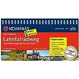 Lahntalradweg, Vom Rothaargebirge bis zum Rhein: Fahrradführer mit Routenkarten im optimalen Maßstab. (KOMPASS-Fahrradführer, Band 6310)