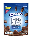 #5: Oreo Thins Bites Fudge Dipped Chocolate Sandwich Cookies, Original, 6 oz