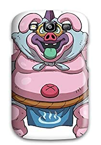 Rugged Skin Case Cover For Galaxy S3- Eco-friendly Packaging(gamefaqs Youkai Watch)