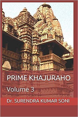 Amazon Fr Prime Khajuraho Volume 3 Dr Surendra Kumar