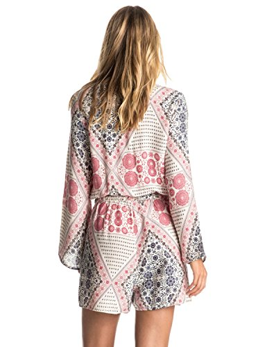 Roxy Juniors Midnight Clear Romper, Bohemian Behavior/Pristine, X-Large