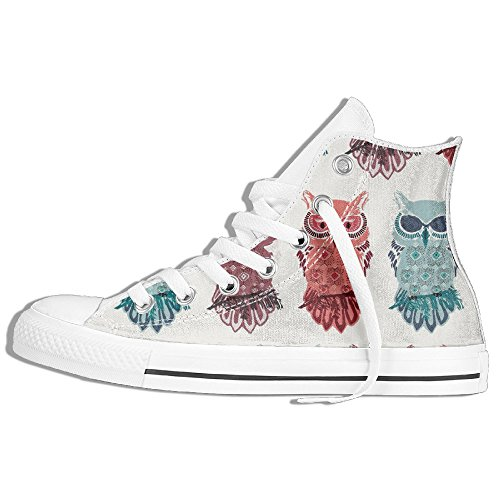 Nightfall Bird Of Night Mist Unisex Sneakers Skate Shoe Hi Top