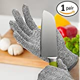 Chefs Star Cut Resistant Gloves with CE Level 5 Protection - Protective Safety Kitchen Cut Protection Work Gloves - (Small/Medium) by Chefs Star?