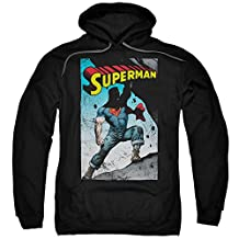 Hoodie: Superman- Super Strong Pullover Hoodie