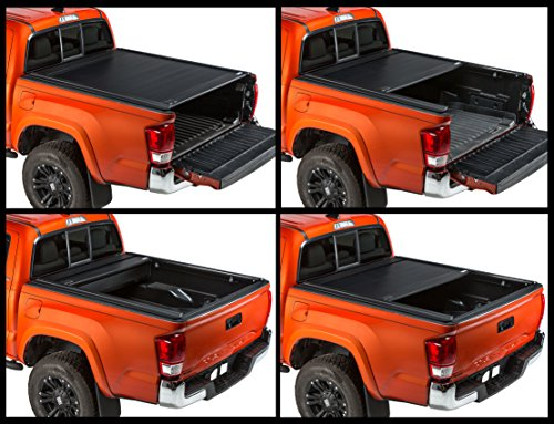 Gatortrax Retractable (fits) 2016-2019 Toyota Tacoma 5 Foot Bed Only Matte Truck Bed Tonneau Cover (G60851) Made in The USA