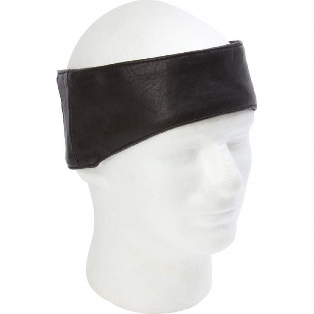 Diamond Plate Solid Genuine Leather Ear Warmer