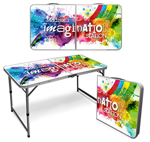 (Infusion Custom 4-Foot Premium Folding Arts & Activities Table)