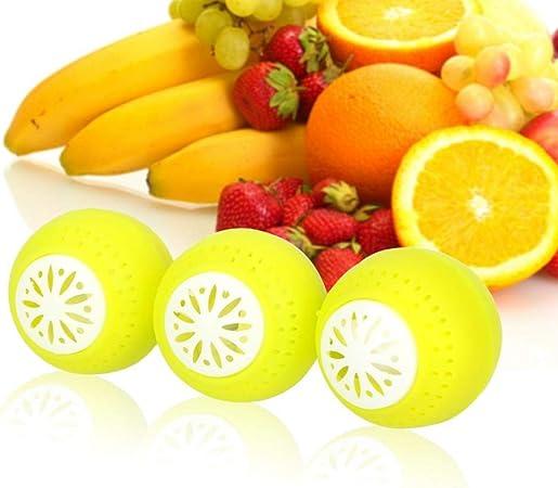 3 Piezas/Set Mantenga Frutas y hortalizas Frescas Bolas del ...