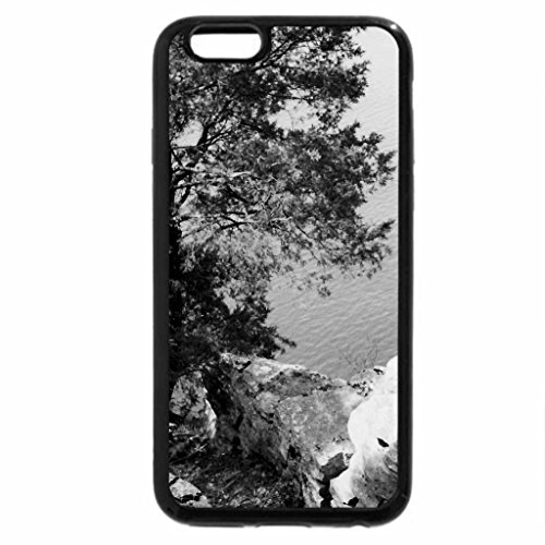 iPhone 6S Case, iPhone 6 Case (Black & White) - Percy Priest Lake in Tn.