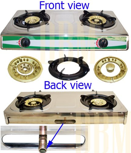 double burner gas stove - 7