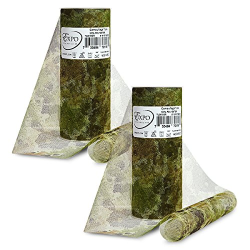 Expo International Pack of 2 10 Yards Pk of 2 Camouflage Print 6