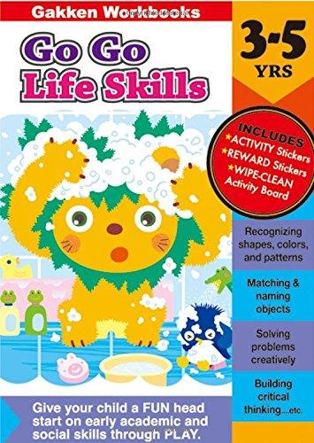Go Go Life skills 3-5 (Gakken Workbooks)