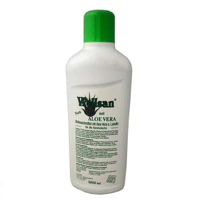 WOLLSAN Aloe Vera Detergente para lanolina, 1 l, para lavar a mano ...