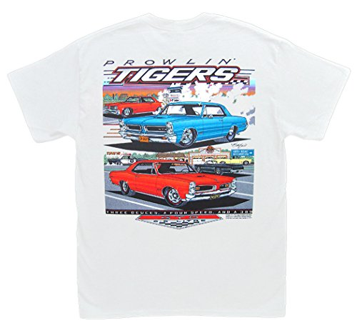 Hot Shirts Pontiac Gto Prowlin Tigers Legendary Great Ones T Shirt  3Xl   Royal Hurst Judge