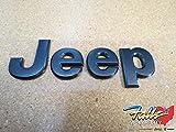 oem emblem - 2016 Jeep Wrangler Granite Crystal Namepate Emblem Mopar OEM