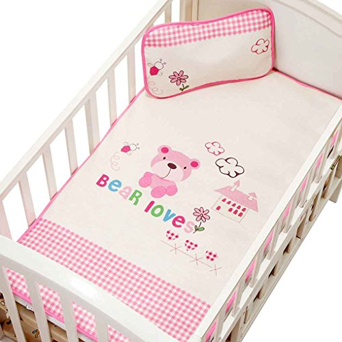 Chilie Baby Summer Sleeping Ice Silk Fiber Infant Crib Mat Mattress Breathable Cool Washable Newborn Toddler Bed Under Pad by Chilie
