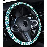 Mayco Bell 2019 Automotive Women Cute Succulent Steering Wheel Cover