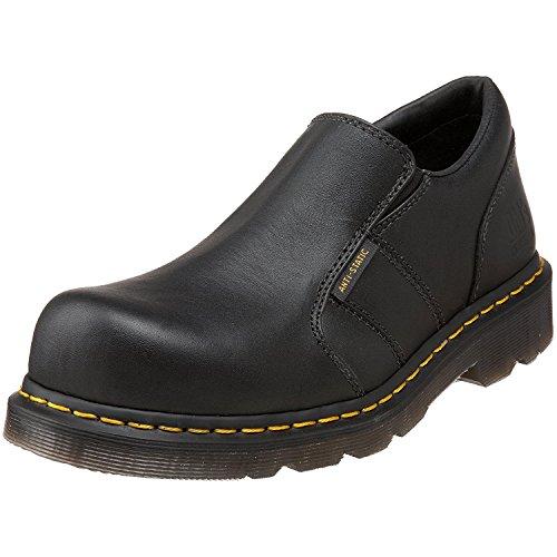 Dr. Martens Mens Resistor ST ESD Steel Toe Shoe, Negro, 45 M EU/10 M UK