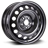 Aftermarket Steel Rim 16X6.5, 5X105, 56.6, +39, black finish (MULTI APPLICATION FITMENT) X46656