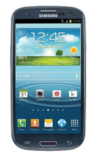Samsung Galaxy S III / SGH-i747 16GB GSM Unlocked LTE Android Smartphone Blue