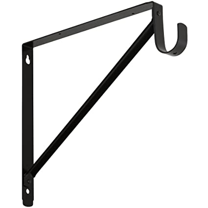 National Hardware S833 855 V8186 Shelf/Hang Rod Bracket In Oil Rubbed  Bronze,
