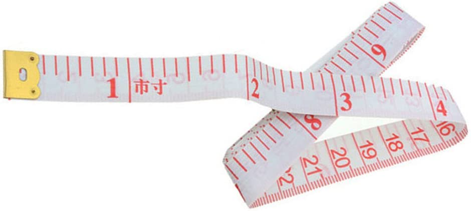 Timesuper Flexible Tape Measure Body Measurements Soft Tape Measure Cloth Tailor Fabric Measuring Tape Sewing Crafts Tools