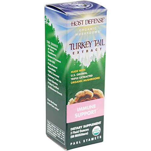 Host Defense - Turkey Tail Extract, Immune Support, 60 Servings (2 oz) (Defense Extract)