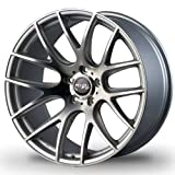 vw rims 18 - Miro Type 111 18 Silver Wheel / Rim 5x100 with a 35mm Offset and a 57.1 Hub Bore. Partnumber W111.815111