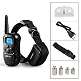 glass blowers torch - Remote Pet Dog Training Collar 300 Yard Rechargeable LCD 100LV Level Shock Vibra by eight24hours