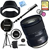 Tamron SP 24-70mm f/2.8 Di VC USD G2 Lens for Canon Mount with TAP-IN Console Plus 64GB Accessories Kit