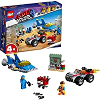 LEGO 117-Piece Movie Emmet and Benny's Build and Fix Workshop