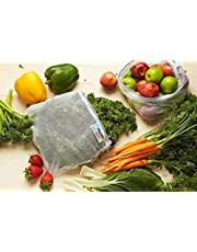 Reusable Produce Bags (Chilli) - 8 Pack