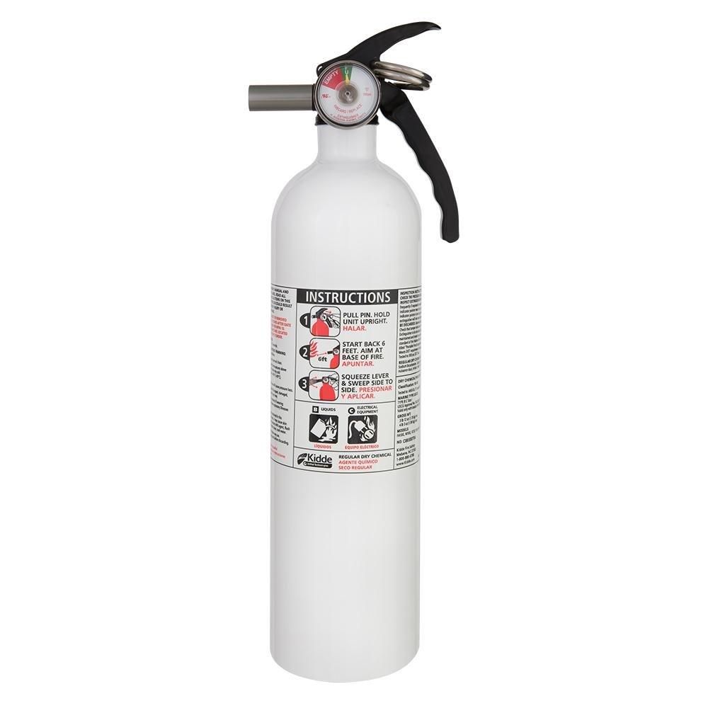 21008634 Kidde 10-B:C Auto/Marine Fire Extinguisher. New METAL VALVE