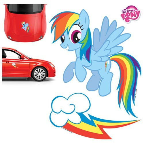 P RAIN01 Car Graphics Set (Hasbro Rainbow Dash) ()