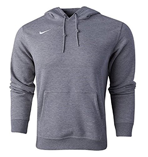 Nike Men's Sportswear Pullover Fleece Club Hoodie Heather Grey Medium