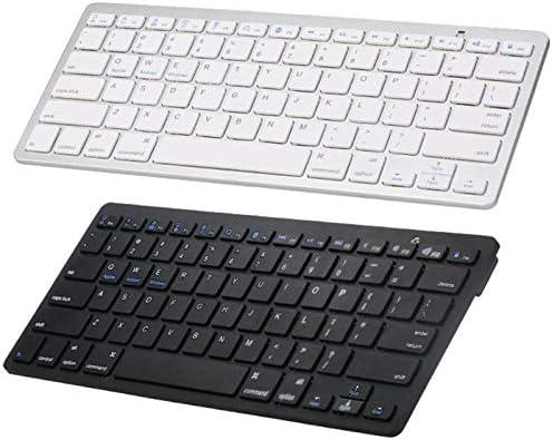 Blue-Ocean-11 Universal Ultra-slim Wireless Keyboard Bluetooth 3.0 Keyboard 78 Keys Silent Keyboard for ipad Tablet PC Computer