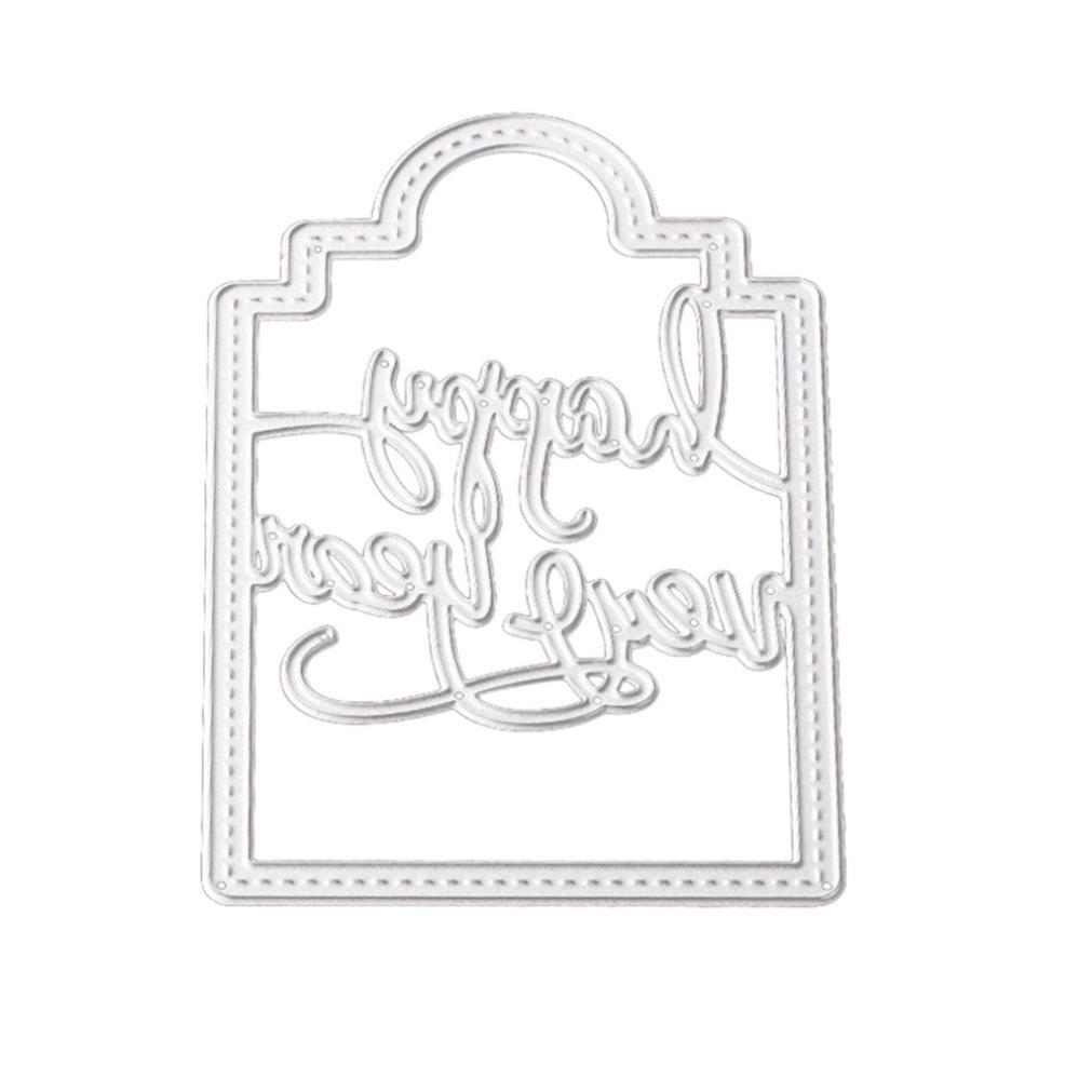 Tarjeta de papel álbum de Scrapbooking molde de metal de corte muere Plantillas para DIY decor Craft Por topunder: Amazon.es: Juguetes y juegos