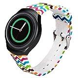 Creazy® Luxury TPU Silicone Watch Band Strap For Samsung Galaxy Gear S2 SM-R720 (ColorG)